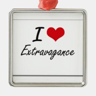 I love extravagance metal ornament