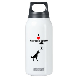 I Love Extreme Sports Insulated Water Bottle
