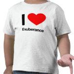 i love exuberance tees