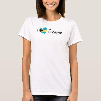 I Love Exuma T-Shirt