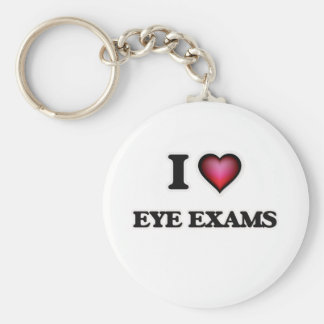 I love EYE EXAMS Keychain