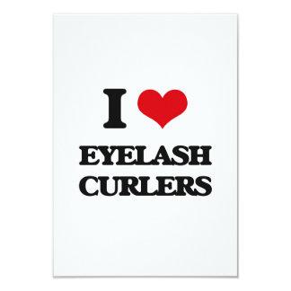 I love Eyelash Curlers 3.5x5 Paper Invitation Card