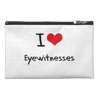 I love Eyewitnesses Travel Accessories Bags
