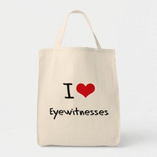 I love Eyewitnesses Canvas Bags