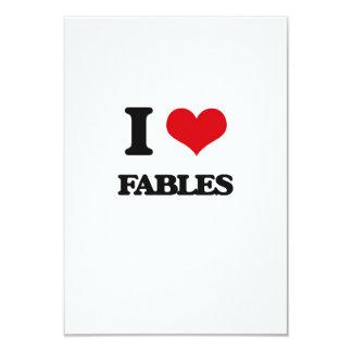 I love Fables 3.5x5 Paper Invitation Card