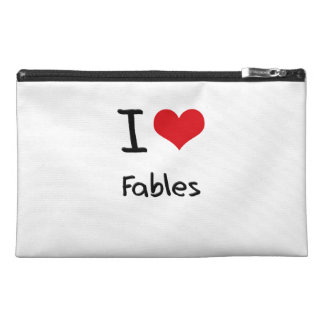 I Love Fables Travel Accessory Bag