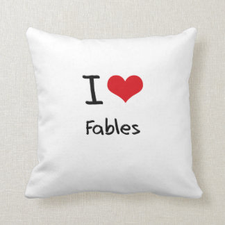 I Love Fables Pillows