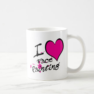 I Love Face Painting Coffee Mug