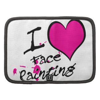 I Love Face Painting Organizers