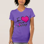 I Love Face Painting T Shirt