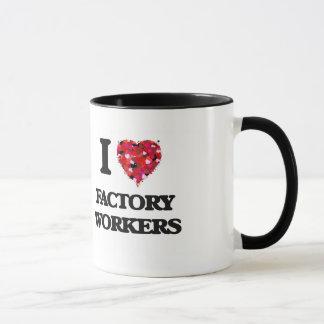 I Love Factory Workers Mug