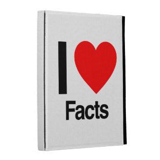 i love facts iPad folio cases