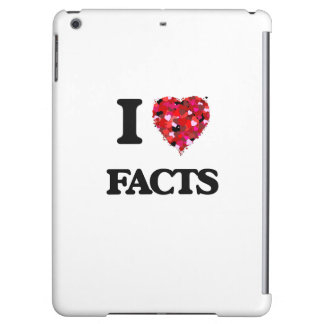 I Love Facts iPad Air Cases