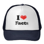 I LOVE FACTS.png Hat