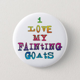 I Love Fainting Goats Button