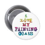 I Love Fainting Goats Pin