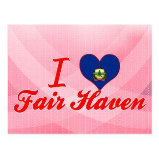 I Love Fair Haven, Vermont Postcard