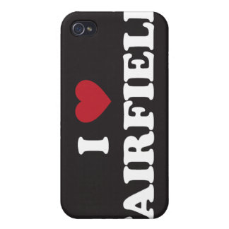 I Love Fairfield California iPhone 4/4S Case