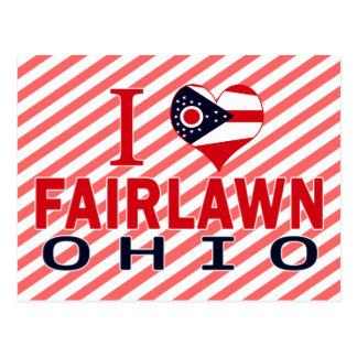 I love Fairlawn, Ohio Postcard
