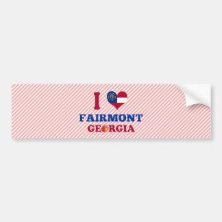 I Love Fairmont, Georgia Car Bumper Sticker