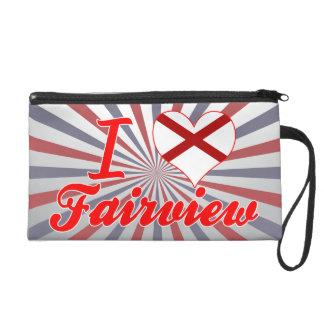 I Love Fairview, Alabama Wristlets