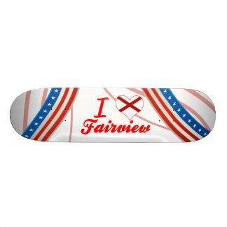 I Love Fairview, Alabama Skate Deck