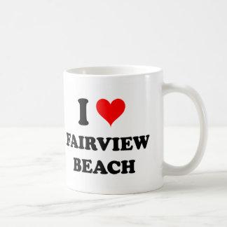 I Love Fairview Beach Classic White Coffee Mug