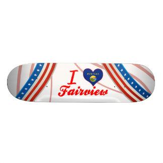 I Love Fairview, Montana Skateboards