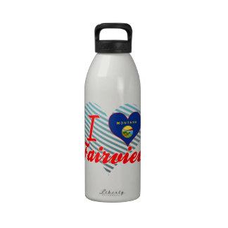 I Love Fairview, Montana Drinking Bottles