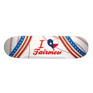 I Love Fairview, Texas Skate Boards