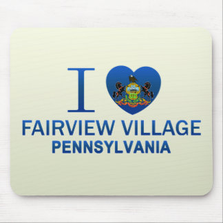 I Love Fairview Village, PA Mouse Pad
