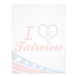 I Love Fairview, West Virginia Letterhead