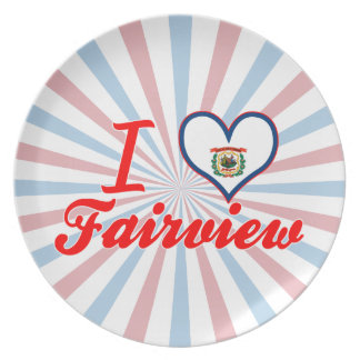 I Love Fairview, West Virginia Plates