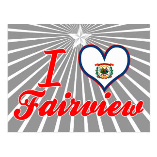 I Love Fairview, West Virginia Post Cards