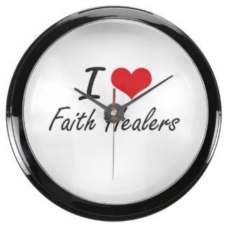 I love Faith Healers Aquavista Clock