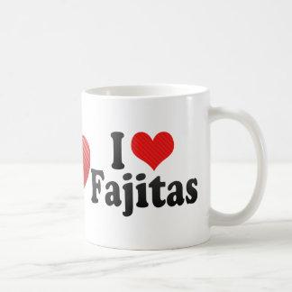 I Love Fajitas Coffee Mug