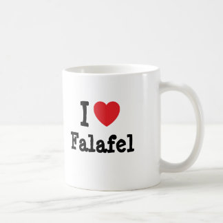 I love Falafel heart T-Shirt Coffee Mug