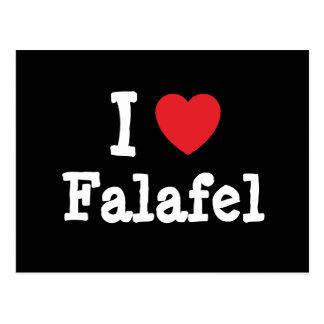 I love Falafel heart T-Shirt Post Cards