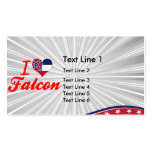 I Love Falcon, Mississippi Business Card Templates