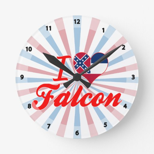 I Love Falcon, Mississippi Wallclocks