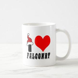 I Love Falconry Design Mug
