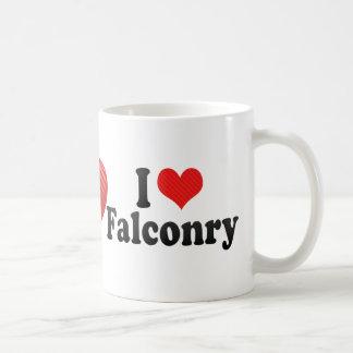 I Love Falconry Coffee Mugs