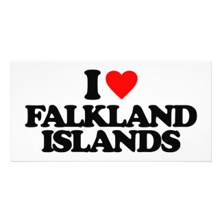 I LOVE FALKLAND ISLANDS PHOTO CARDS