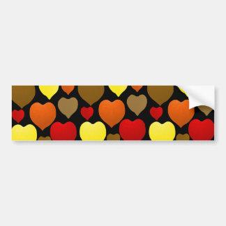 I Love Fall Bumper Sticker