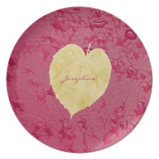 I Love Fall Melamine Plate