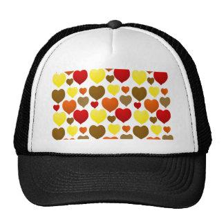 I Love Fall Mesh Hat