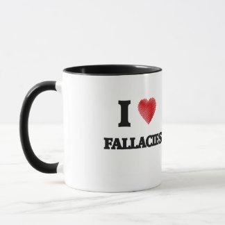 I love Fallacies Mug
