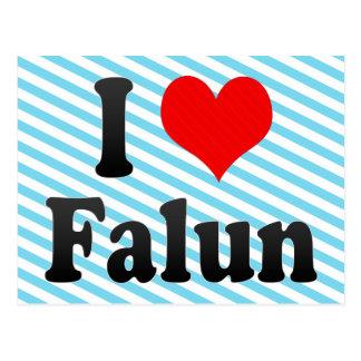 I Love Falun, Sweden. Jag Alskar Falun, Sweden Postcard