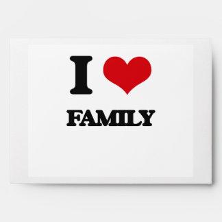 I love Family Envelope