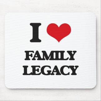 I love Family Legacy Mouse Pad